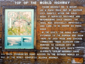 Top Of The World Infotafel -> Top Of The World (Kanada)