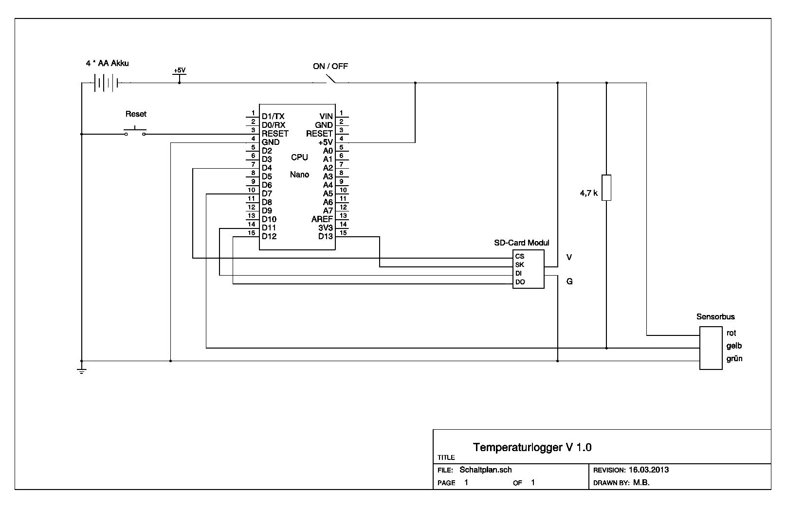 arduino projekt temperaturlogger. Black Bedroom Furniture Sets. Home Design Ideas