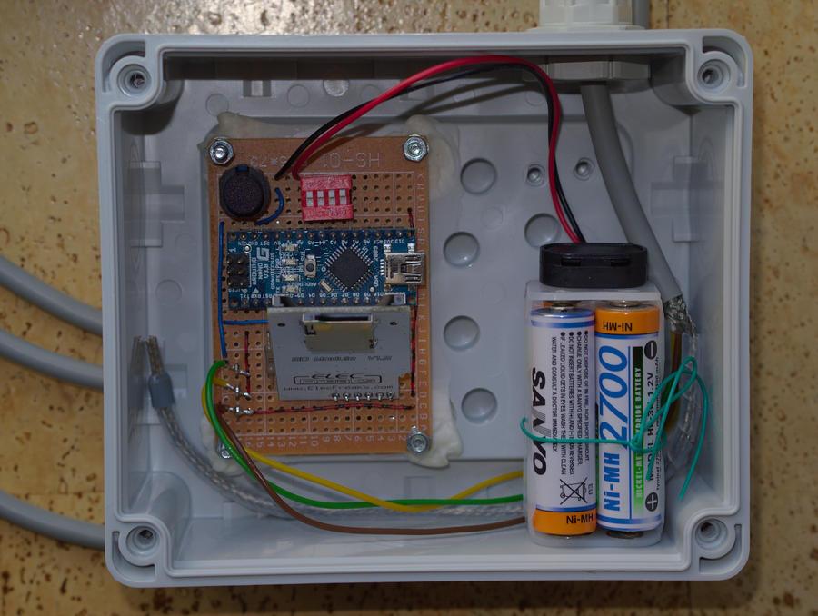 Arduino projekt temperaturlogger
